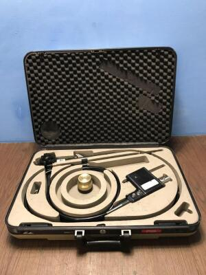 Pentax EG-2930K Video Gastroscope in Case - Engineer's Report : Optical System - Untested Due to No Processor, Angulation - No Fault Found, Insertion