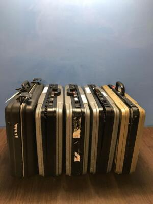 4 x Pentax Scope Cases and 1 x Olympus Case