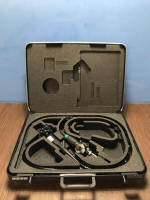 Olympus GIF-Q240X Video Gastroscope in Case *2201959* *Mfd 2002* Engineer's Report - Optical System No Fault Found, Angulation No Fault Found , Insert