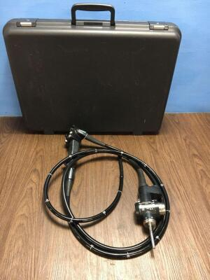 Olympus CF-240DL Colonoscope in Case *S/N 2300092* **Mfd 2003** Engineer's Report - Optical System No Fault Found - Angulation No Fault Found - Insert