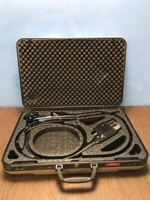 Pentax EC-3470LK Flexible Colonoscope In Carry Case - Engineer's Report : Optical System - Untested Due to No Processor, Angulation - No Fault Found,