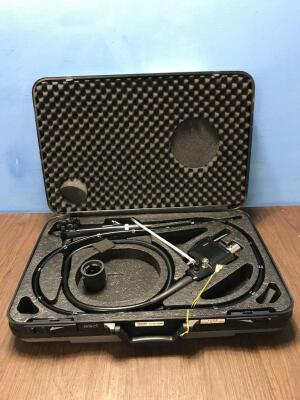 Pentax EC-3890Li Video Colonoscope in Case - Engineer's Report : Optical System - Untested Due to No Processor, Angulation - No Fault Found, Insertion