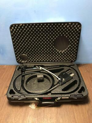 Pentax EG-2990i Video Gastroscope in Case - Engineer's Report : Optical System - Untested Due to No Processor, Angulation - No Fault Found, Insertion