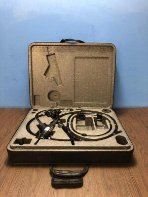 Fujinon EC-530FL Video Colonoscope In Carry Case - Engineer's Report : Optics - No Fault Found, Angulation - No Fault Found , Patient Tube - No Fault