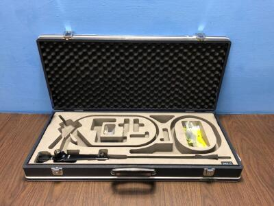 Pentax FNL-10RBS Laryngoscope in Carry Case with 1 x Pentax BS-LH2 Lamp Attachment (Powers Up) - Engineer's Report : Optics -No Broken Fibres, No Faul