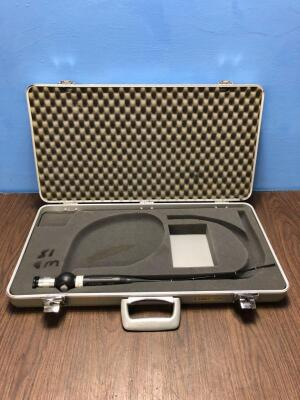 Karl Storz 11101RP2 Flexible Rhinolaryngoscope in Carry Case - Engineer's Report : Optics -No Broken Fibres, No Fault Found, Insertion Tube - 1 x Mino