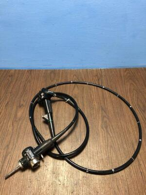 Olympus CF-240L Colonoscope - Engineer's Report : Optics -Image Ok No 1 Freeze Button Missing, Angulation - No Fault Found , Insertion Tube - Tube 90