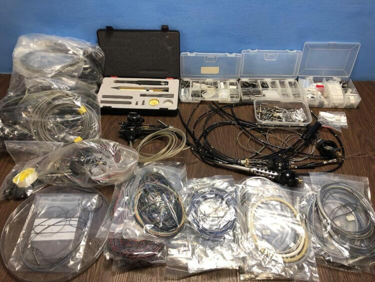 Job Lot of Various Endoscopy Spare Parts