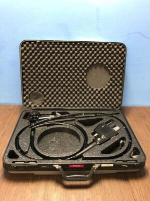 Pentax EC-3870LK Video Colonoscope in Carry Case - Engineer's Report : Optics - Untested Due to No Processor , Angulation - No Fault Found , Insertion