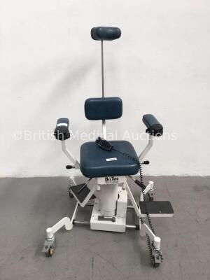 BriTec Bright Technologies Ltd Electric Examination/Operating Chair with Controller (No Power-Clicking Noise) *G* * SN 00062166 *