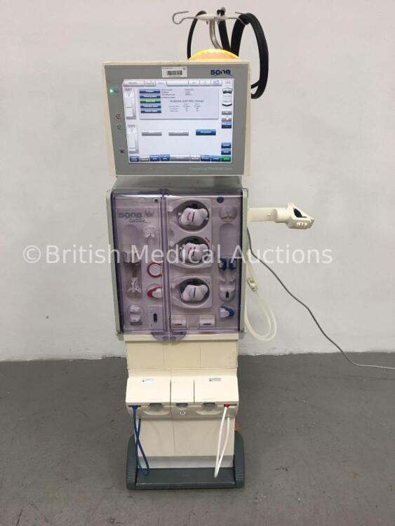 Fresenius Medical Care 5008 CorDiax Dialysis Machine Software Version 4.50 / Operating Hours 33084 with Hoses (Powers Up) * Mfd 2010 *