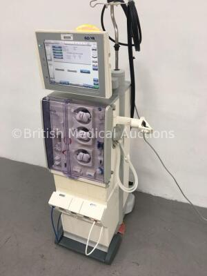 Fresenius Medical Care 5008 CorDiax Dialysis Machine Software Version 4.50 / Operating Hours 33084 with Hoses (Powers Up) * Mfd 2010 * - 4