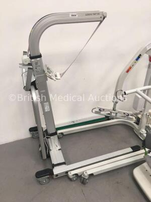 2 x Liko UNO 102 Electric Patient Hoists, 1 x Liko Golvo 7007 ES Electric Patient Hoist and 1 x Liko Sabina II Comfort Electric Patient Hoist (Unable - 4