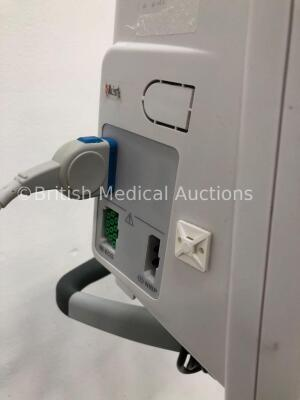 GE Dash 2500 Patient Monitor with SpO2,ECG,NIBP Options and 1 x SpO2 Finger Sensor (Powers Up) * Mfd 2010 * - 3
