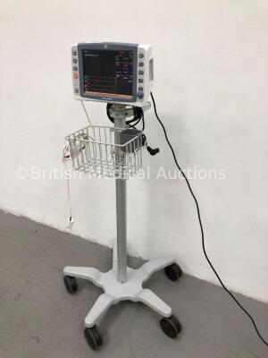 GE Dash 2500 Patient Monitor with SpO2,ECG,NIBP Options and 1 x SpO2 Finger Sensor (Powers Up) * Mfd 2010 * - 4