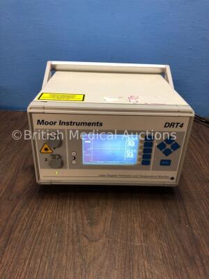 Moor Instruments DRT 4 Laser Doppler Perfusion and Temperature Monitor (Powers Up) *S/N 003011* (G)