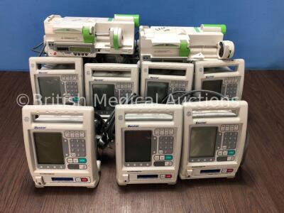 11 x Baxter Colleague Infusion Pumps and 2 x Fresenius DPS Visio Syringe Pumps