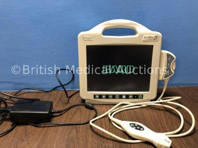 1 x Bard Site Rite Ref 976300 Ultrasound System with 1 x Bard Site Rite Ref 9760034 Transducer / Probe and 1 x AC Power Supply (Powers Up with Cracked