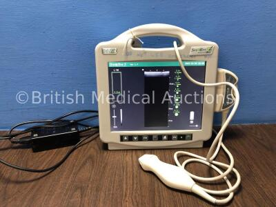 1 x Bard Site Rite Ref 976300 Ultrasound System with 1 x Bard Site Rite Ref 9760034 Transducer / Probe and 1 x AC Power Supply (Powers Up with Damaged