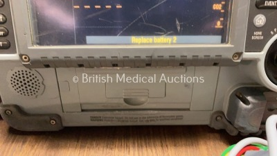 Medtronic Physio-Control Lifepak 15 12-Lead Monitor / Defibrillator *Mfd - 2010* Ref - 99577-000025 P/N - V15-2-000030 Software Version - 3207410-007 - 4