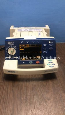 Philips HeartStart XL Smart Biphasic Defibrillator with Pacer, ECG and Printer Options (Powers Up When Plugged In) *S/N US00121493*