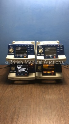 3 x Philips HeartStart XL Smart Biphasic Defibrillators with ECG and Printer Options and 1 x Agilent HeartStart XL Smart Biphasic Defibrillator with E
