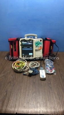 Philips HeartStart MRx Defibrillator with NBP,ECG,SpO2 and Printer Options,2 x Batteries,1 x Paddle Lead,1 x Philips Test Load,1 x SpO2 Finger Sensor,