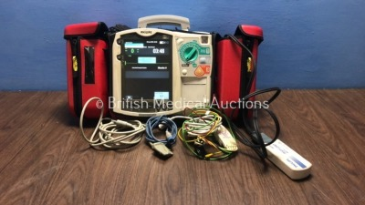 Philips HeartStart MRx Defibrillator with NBP,ECG,SpO2 and Printer Options,1 x Battery,1 x Paddle Lead,1 x Philips Test Load,1 x SpO2 Finger Sensor,1
