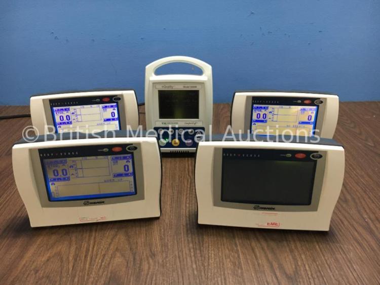 4 x Nonin Respsense LS1R-9R Co2 Monitors ( 3 Power Up) and 1