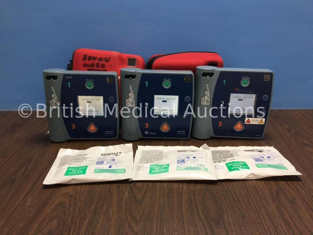 Job Lot Including 1 x Agilent Heartstream FR2 Defibrillator