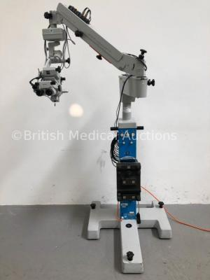 Carl Zeiss Opmi CS Dual Operated Surgical Microscope with