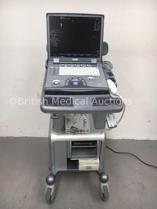 GE Logiq e Portable Ultrasound Scanner Ref 5393485 *S/N
