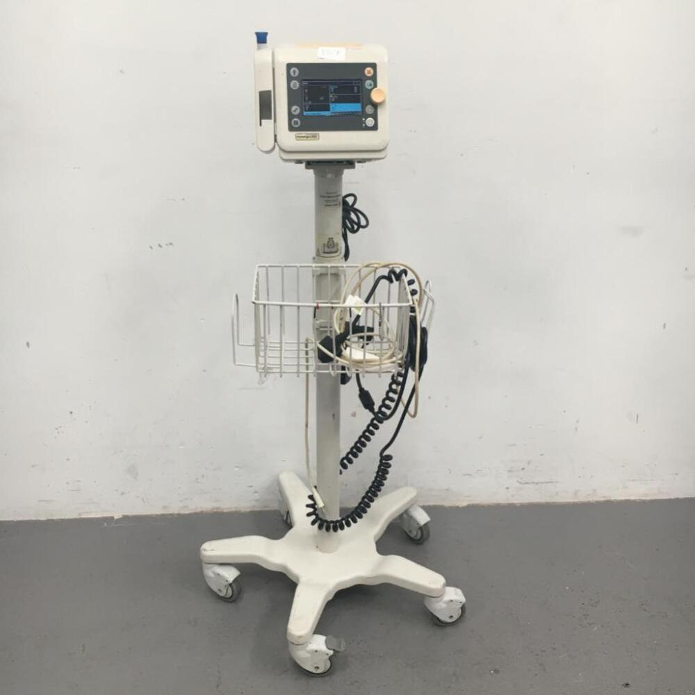 Philips SureSign VS2 Patient Monitor on Stand with SPO2 and