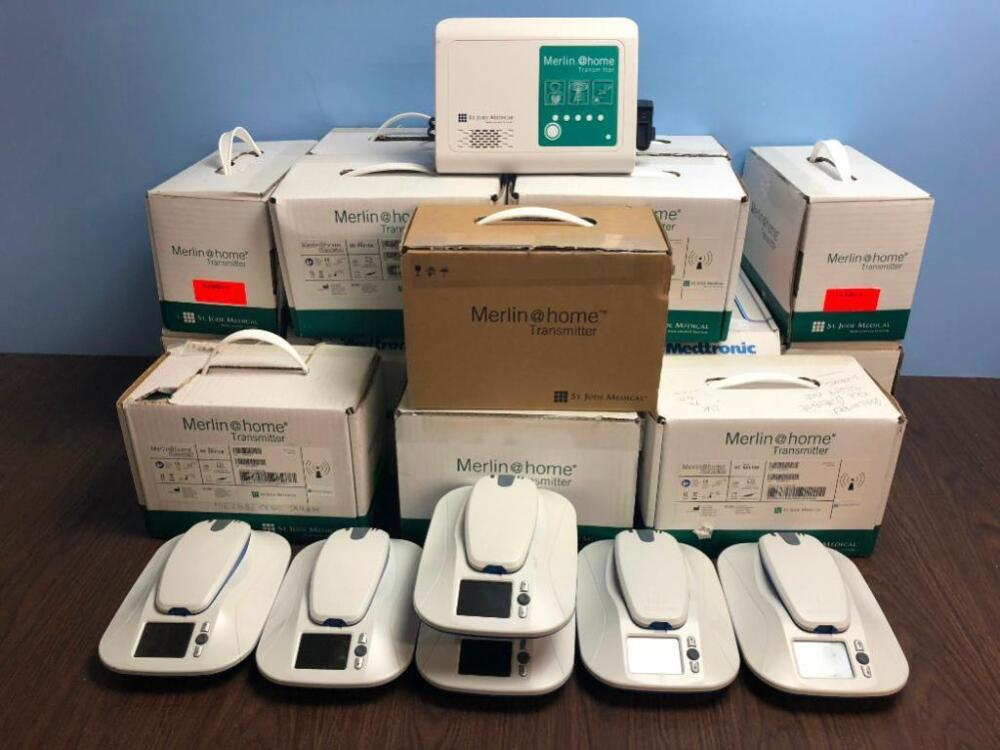 Job Lot of St  Jude Medical Merlin @ Home Transmitters and
